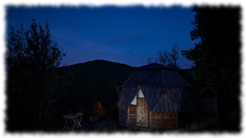 dome-étoiles-cevennes-nuit